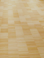 Industry vertical naturel parquet en bambou, brut