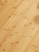 Milo horizontal caramel parquet en bambou, vernis