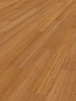 Limbo vertical caramel parquet en bambou, brut