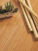 Limbo vertical caramel parquet en bambou, huilés