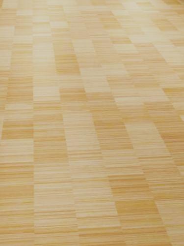 Industry verticaal naturel bamboe parket onbehandeld - Hedendaagse vloer ...