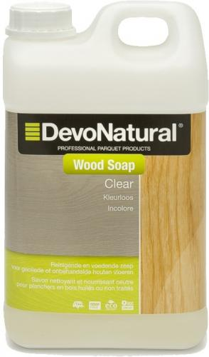 DevoNatural® Wood Soap - Kleurloos (2 L)