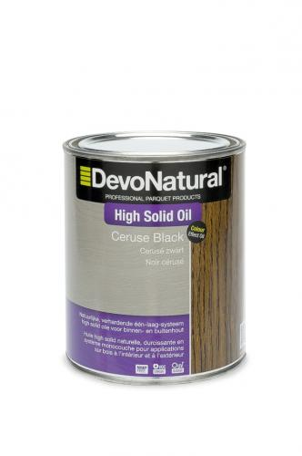 DevoNatural® High Solid Oil - Zwart cerusé (1 L)