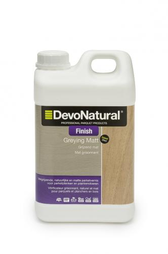 DevoNatural® Finish - Grijzend Mat - (2 L)