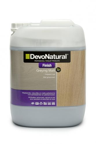 DevoNatural® Finish - Grijzend Mat - (10 L)