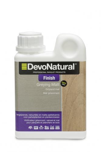 DevoNatural® Finish - Grijzend Mat - (100 mL)