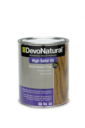 DevoNatural® High Solid Oil - Verweerde eik (100 mL)