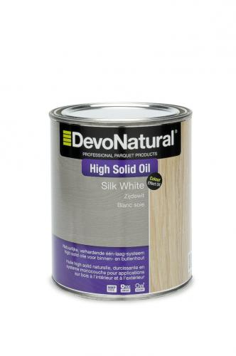 DevoNatural® High Solid Oil - Zijdewit (1 L)