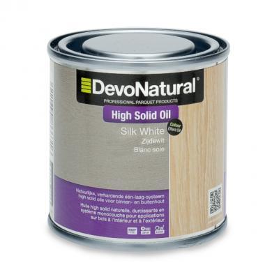 DevoNatural® High Solid Oil - Zijdewit (100 mL)